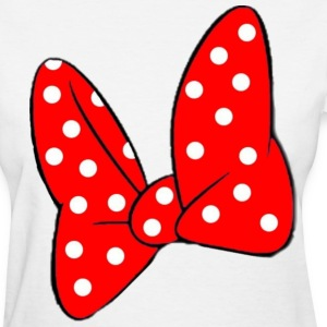 Minnie's Bow Women's T-Shirts - Women's T-Shirt