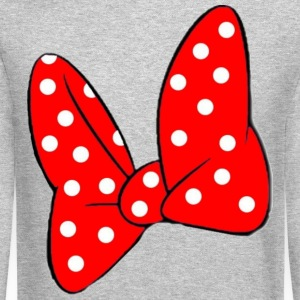 Minnie's Bow Long Sleeve Shirts - Crewneck Sweatshirt