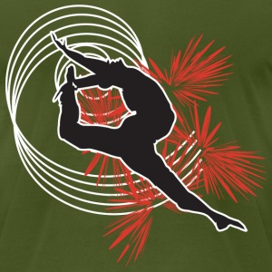 Gymnastics/Dance - Men's T-Shirt by American Apparel