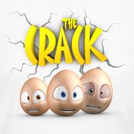 Design ~ The Crack - Womens long sleeve