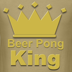 Beer pong king #2 T-Shirts - Men's T-Shirt
