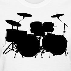 Drums HD Design Women's T-Shirts