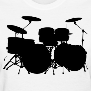 Drums HD Design Women's T-Shirts - Women's T-Shirt