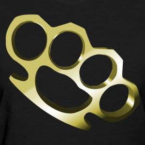 Brass Knuckles HD Design Women's T-Shirts - Women's T-Shirt