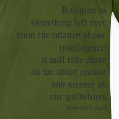 Bertrand Russell - Religion is Something Left Over