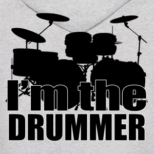 I'm The Drummer HD Design Hoodies - Men's Hoodie