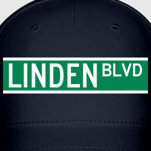 LINDEN BLVD SIGN Caps - Baseball Cap