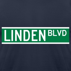 LINDEN BLVD SIGN 2 T-Shirts