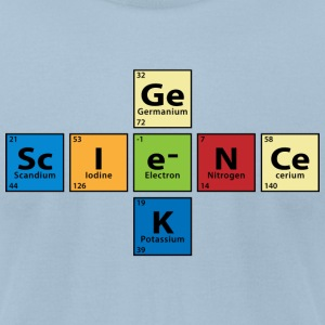 Science Geek  T-Shirts - Men's T-Shirt by American Apparel