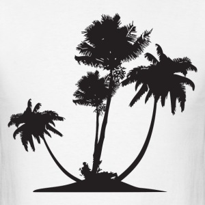 Palm Trees HD Design T-Shirts - Men's T-Shirt