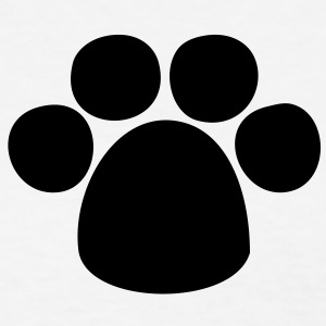 Puppy Paw HD VECTOR Women's T-Shirts - Women's T-Shirt