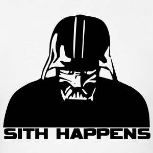 Sith Happens HD VECTOR T-Shirts - Men's T-Shirt