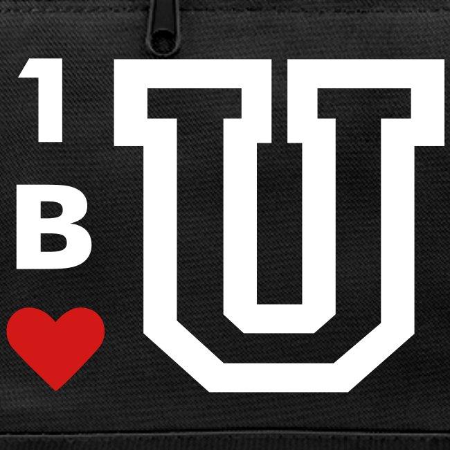 One U, Be U, Love U Duffle