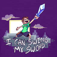 Design ~ I Can Swing My Sword (Minecraft Diamond Sword Song) (Women)
