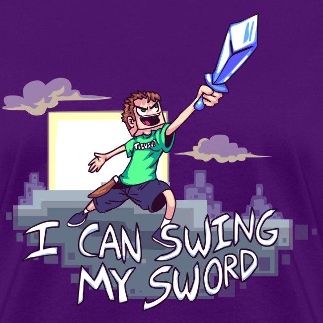 I Can Swing My Sword (Minecraft Diamond Sword Song) (Women)