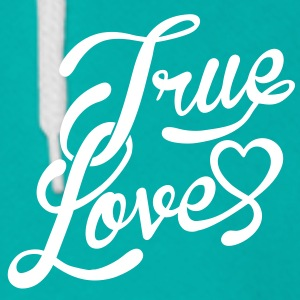 true love Zip Hoodies/Jackets - Unisex Fleece Zip Hoodie by American Apparel