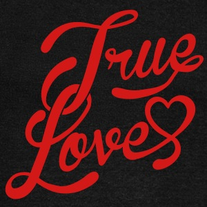 true love Long Sleeve Shirts - Women's Wideneck Sweatshirt