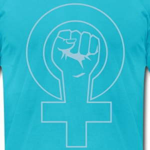 feminist T-Shirts - Men's T-Shirt by American Apparel