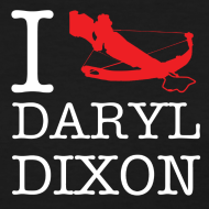 Design ~ I Crossbow Daryl Dixon - White Logo