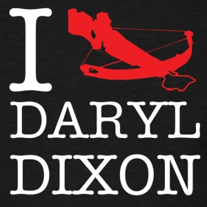 I Crossbow Daryl Dixon  -  - White T-Shirts - Men's T-Shirt