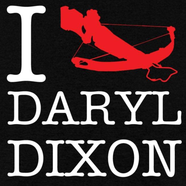 I Crossbow Daryl Dixon - White Logo