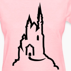 Castle Women's T-Shirts