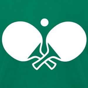 Ping pong T-Shirts - Men's T-Shirt by American Apparel