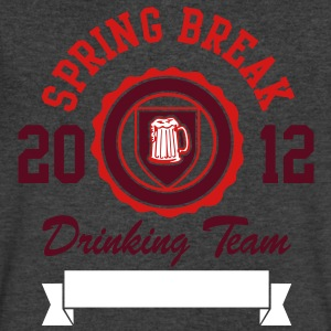 Spring Break Drinking Team 2012 T-Shirts - Men's V-Neck T-Shirt by Canvas