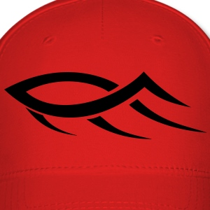 Tribal Jesus Fish HD VECTOR Caps - Baseball Cap