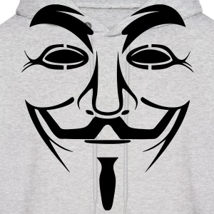 Anonymous HD VECTOR Hoodies - Men's Hoodie
