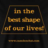 Design ~ Men's FRONT ONLY: Best Shape (black)