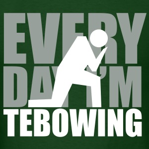 Every Day I'm Tebowing Jets - Men's T-Shirt