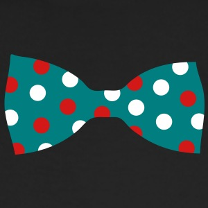 A bow tie with dots Long Sleeve Shirts - Men's Long Sleeve T-Shirt by Next Level