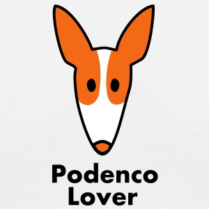 podenco_lover Women's T-Shirts - Women's V-Neck T-Shirt