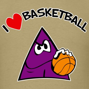 I Love Basketball. TM  Mens Tee - Men's T-Shirt