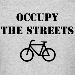 Men's Occupy the Streets Bicycle Long Sleeve - Men's Long Sleeve T-Shirt by Next Level