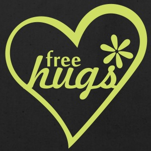 free hugs (1c) Bags  - Eco-Friendly Cotton Tote