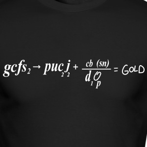 South Park: Chemical Equation for Gold (Front & Back) - Long Sleeve - Men's Long Sleeve T-Shirt by Next Level