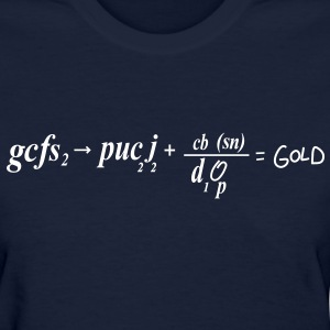 South Park: Chemical Equation for Gold (Front & Back) - Women's - Women's T-Shirt