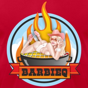 barbie Q T-Shirts - Men's T-Shirt by American Apparel