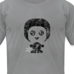 I rock the fro! - Men's T-Shirt by American Apparel