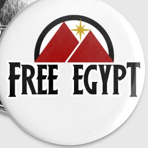 Free Egypt - Small Buttons