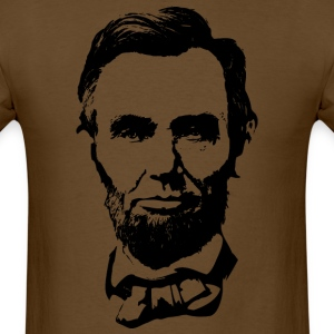 Abraham Lincoln SIlhouette - Men's T-Shirt