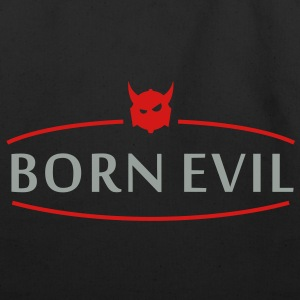 born evil (2c) Bags  - Eco-Friendly Cotton Tote