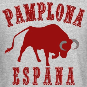 pamplona run of bull - Crewneck Sweatshirt