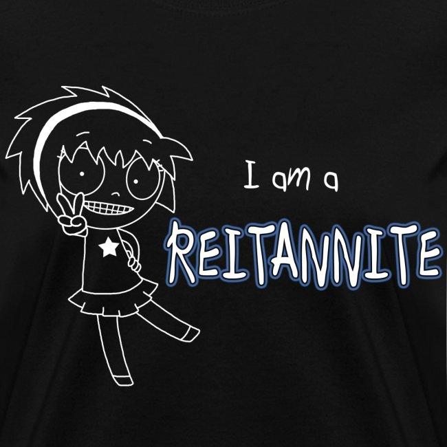 """Reitannite"" Black Shirt Women"