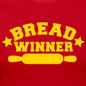 bread winner rolling pin Long Sleeve Shirts - Women's Long Sleeve Jersey T-Shirt