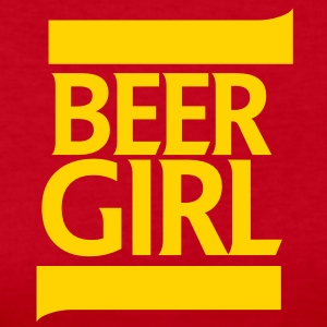 BEER GIRL beer wench design Long Sleeve Shirts - Women's Long Sleeve Jersey T-Shirt