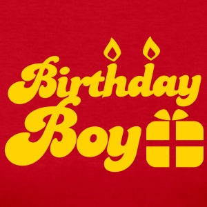 Birthday boy new with present Long Sleeve Shirts - Women's Long Sleeve Jersey T-Shirt