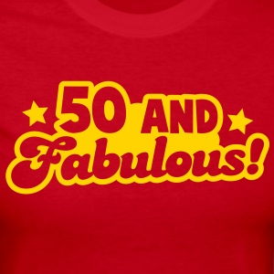 50 fifty and FABULOUS! Long Sleeve Shirts - Women's Long Sleeve Jersey T-Shirt
